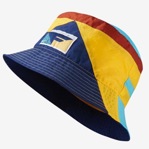 Nike 90s Nylon Flight Bucket Hat Blue Void